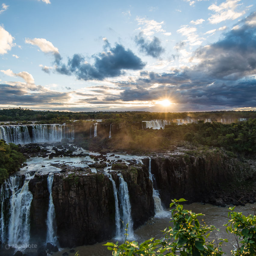 iguazu falls sunset - photo #9
